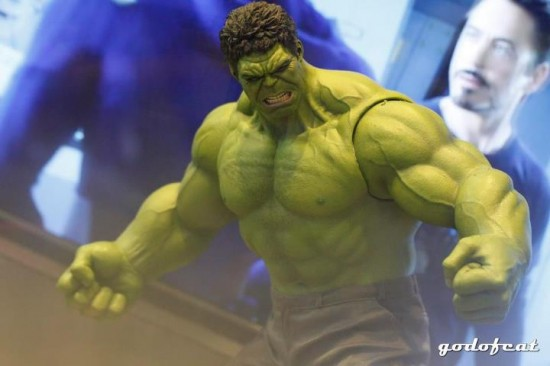 Hulk Hot Toys The Avengers