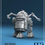 Star Wars du concept au modèle numérique : dossier Jedi Temple Archives