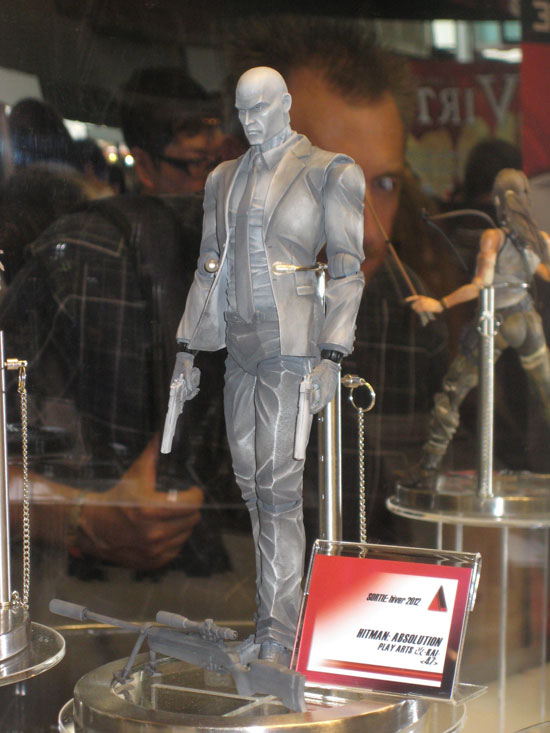 Square Enix Japan Expo 2012 ToyzMag HitMan LaraCorft  