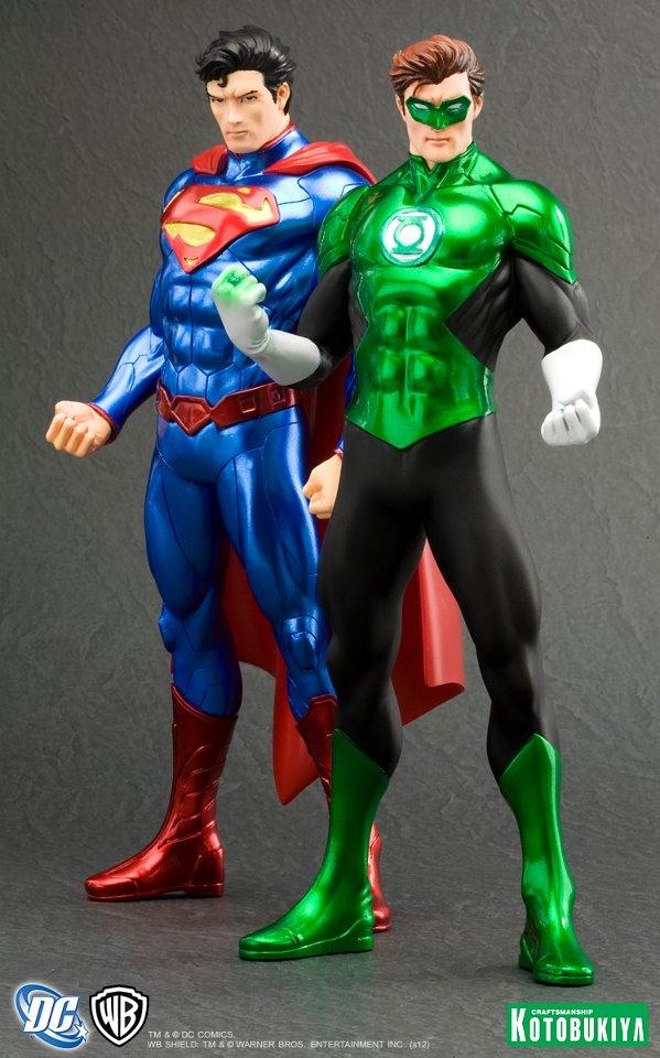 Superman greeen lantern kotobukiya ARTFX+