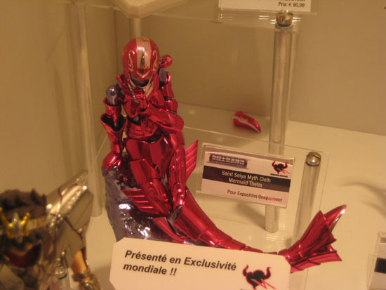 Tamashii nation japan expo 2012 thetis exclue saint seiya Myth cloth