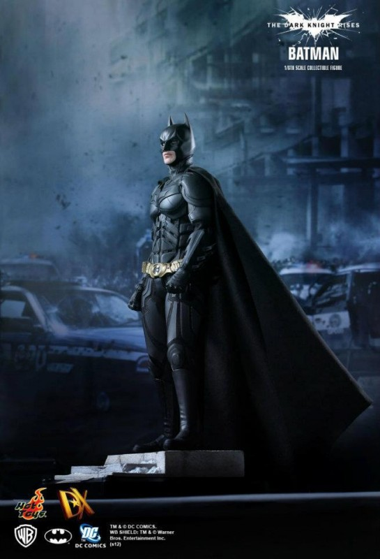 The Dark Knight Rises - Batman - HOT TOYS