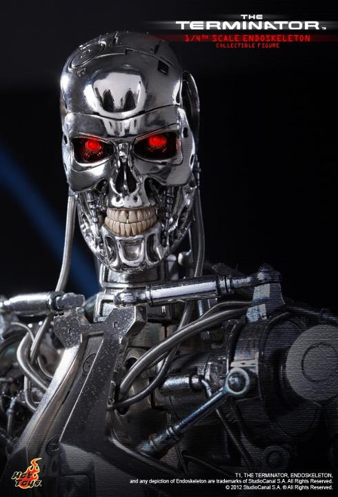The Terminator 14th scale Endoskeleton Collectible Figure hot toys