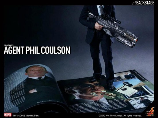 agent Phil coulson the avengers Hot Toys