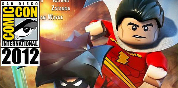 lego SDCC 2012 Shazam