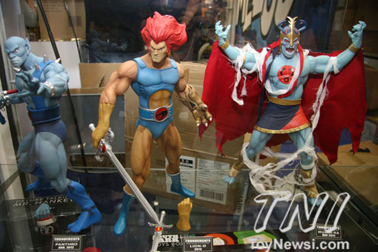 mezco sdcc2012 preview night Thundercats  TDKR