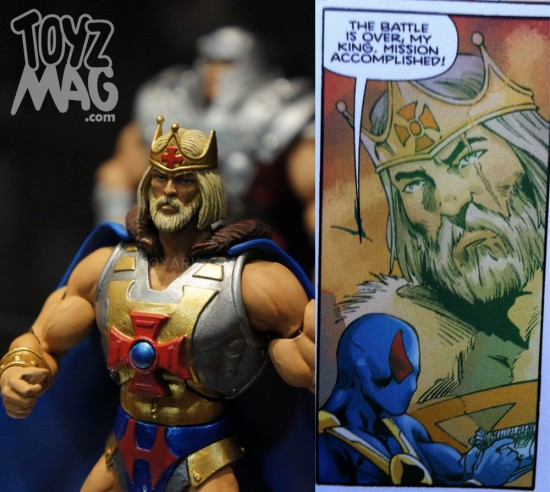 motuc king he-man dans le mini comics 2