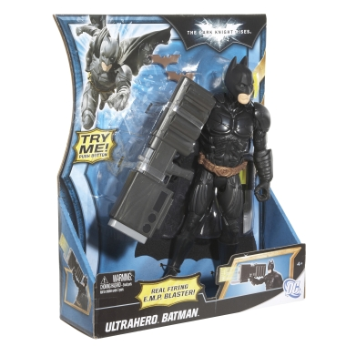 THE DARK KNIGHT RISES BATMAN MATTEL