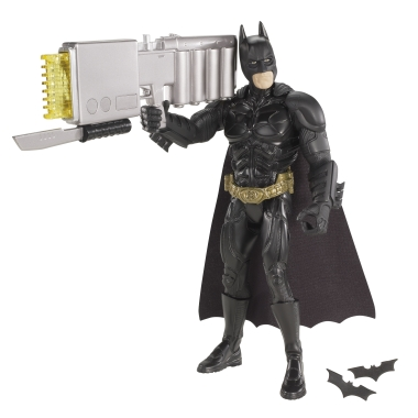 THE DARK KNIGHT RISES BATMAN MATTEL ULTRAHERO