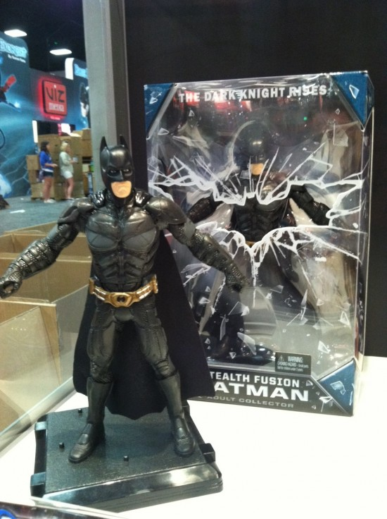 sdcc2012 preview night stand mattel TDKR batman dc universe
