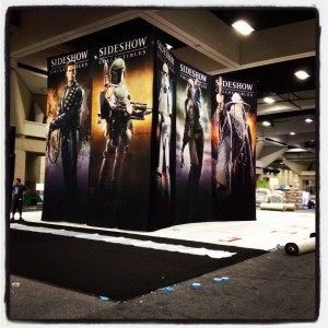 sideshow stand sdcc 2012 2