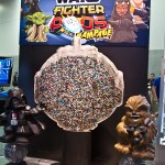star wars SDCC hasbro stand fighter pods