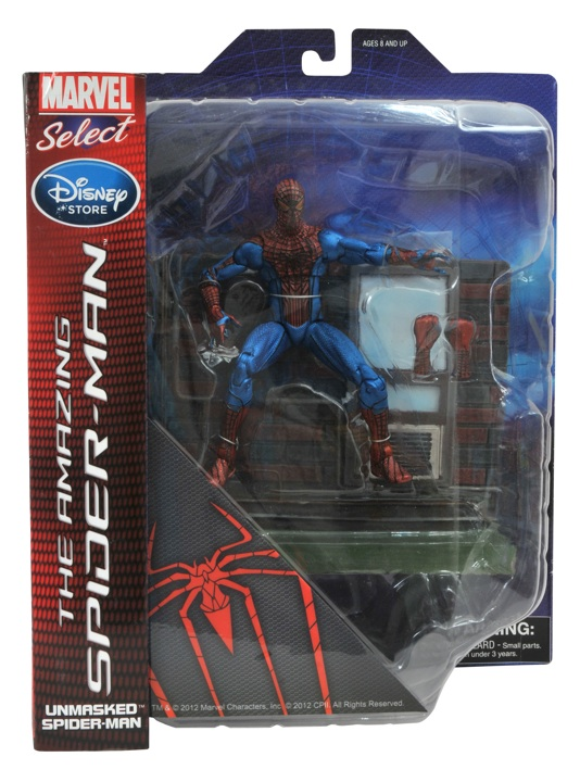 the Amazing Spider-man metallic disney exclue marvel select