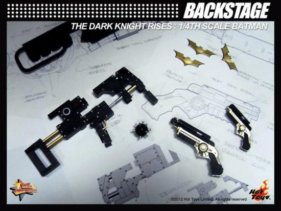 the dark knight rises accesoires hot toys