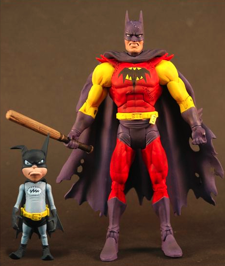 Batman Unlimited Series 2 Planet X Batman with Batmite MATTEL