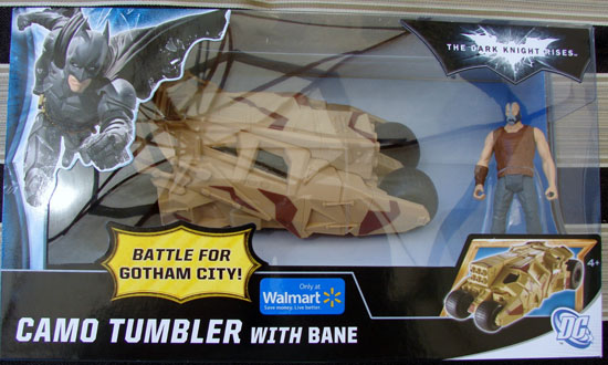 Cama Tumbler The Dark Knight Rises Mattel