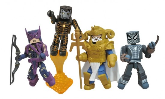Fear Itself Minimates The Mighty Les héros MARVEL DST