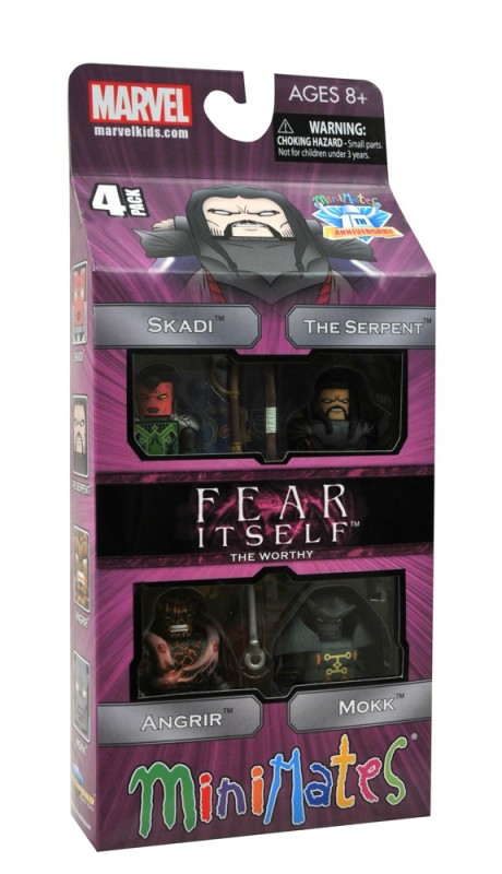 Fear Itself Minimates The Worthy Les mechants MARVEL DST