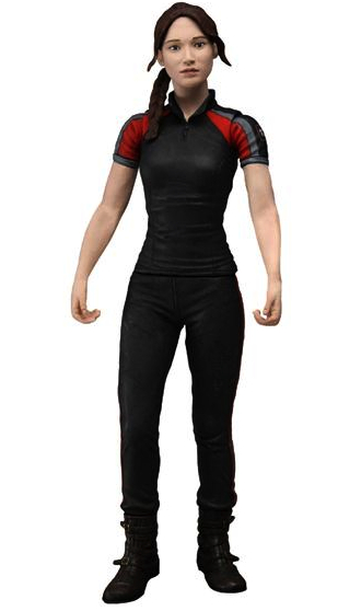 NECA HUNGERS GAMES SERIE 2 KATNISS