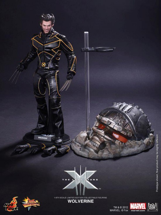 X-Men The Last Stand Wolverine Collectible Figurine hot toys