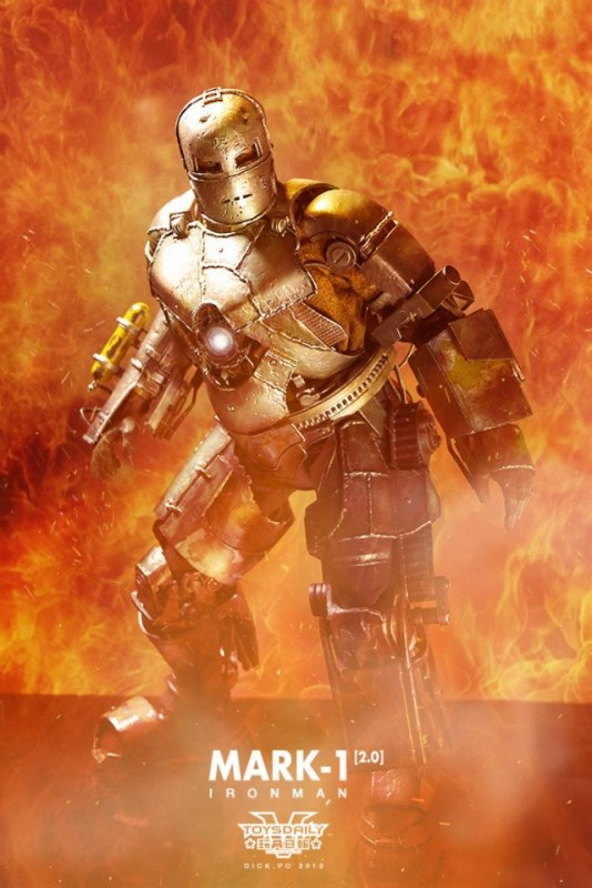hot toys Iron Man Mark 1