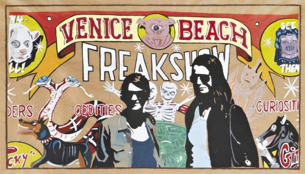 BIZARRO Numa Roda-Gil Venice Beach Freakshow