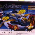 The Avengers du nouveau en France avec le Quinjet