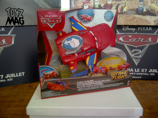 Hawk McQueen Cars Flash Disney Pixar Mattel 2