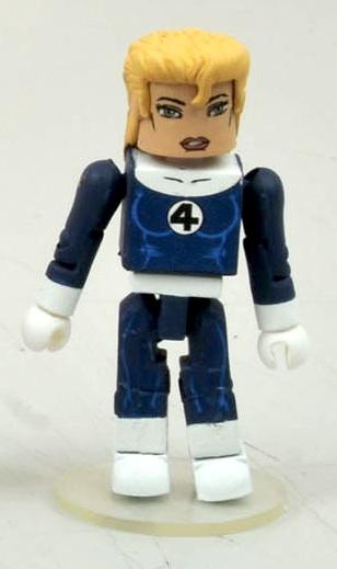Marvel Minimates Series 44 fantastic four Sue storm variante