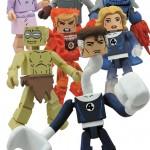 Marvel Minimates serie 48 sous le signe des Fantastic Four