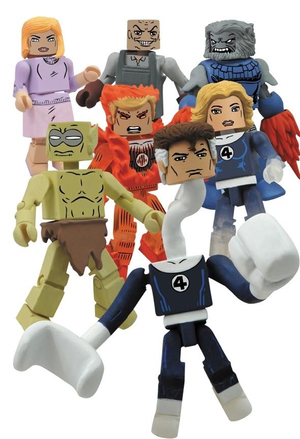 Marvel Minimates Series 44 fantastic four