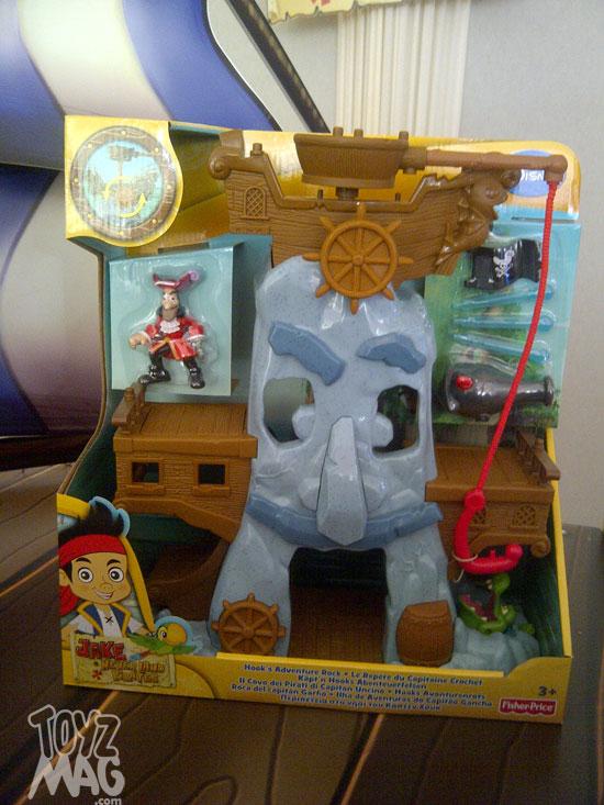 Mattel disney jake et les pirates du - Jack et le pirate ...