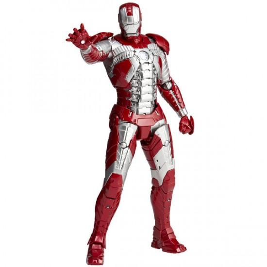 Revoltech  Iron Man Mark V silver centurion