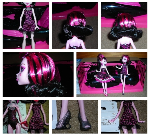 Roadster Draculaura exclusive Monster High