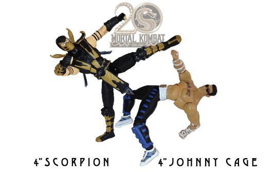 Scorpion and Johnny Cage