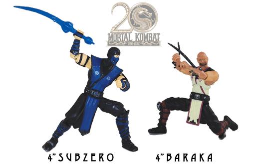 Sub-Zero and Baraka