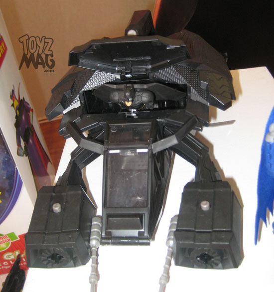 The Dark Knight Rises Mattel noel 2012 the bat batman