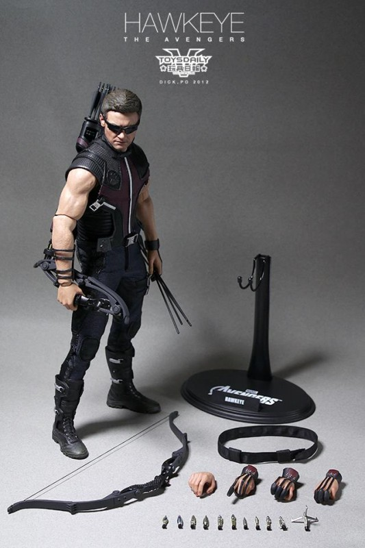 Hawkeye Limited Edition Collectible The Avengers Hot Toys