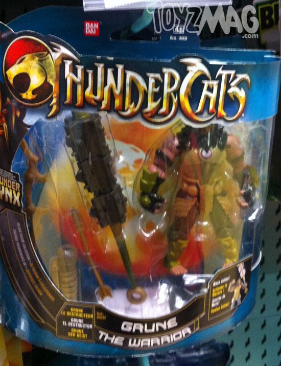 thundercats bandai 2012 deluxes serie moderne Grune