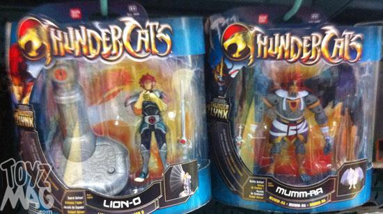 thundercats bandai 2012 deluxes serie moderne Lion-O mumm-ra