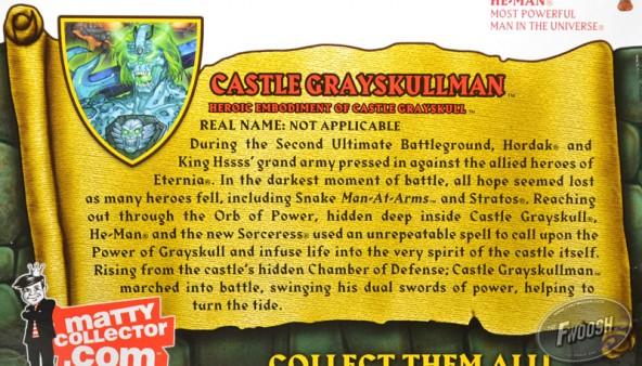 Castle Grayskullman motuc mattel matty