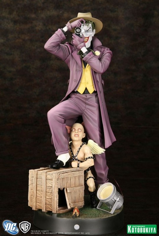 DC Comics Batman The Killing Joke The Joker ARTFX Statue