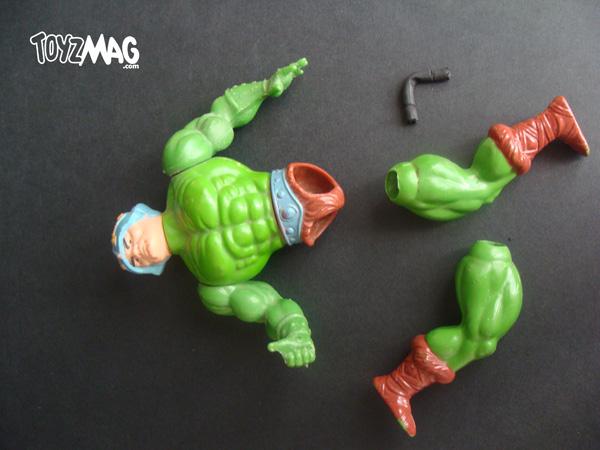 réparation figurine maîtres de l'univers