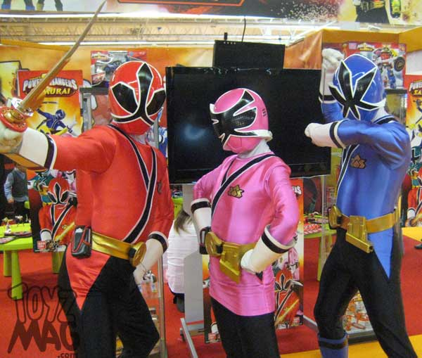 Kidexpo Power rangers super  samurai