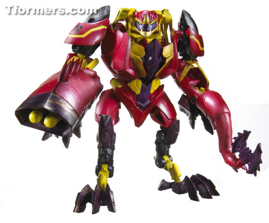 Laserback beast hunter transformers hasbro