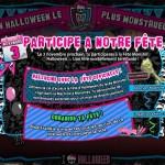 Monster High fête Halloween