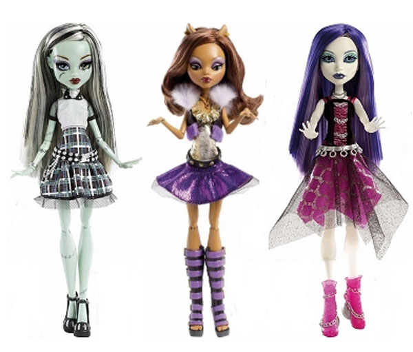 Monster High Ghouls Alive