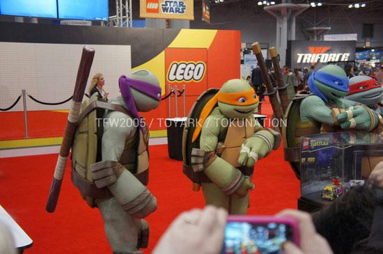 NYCC2012 Lego TMNT