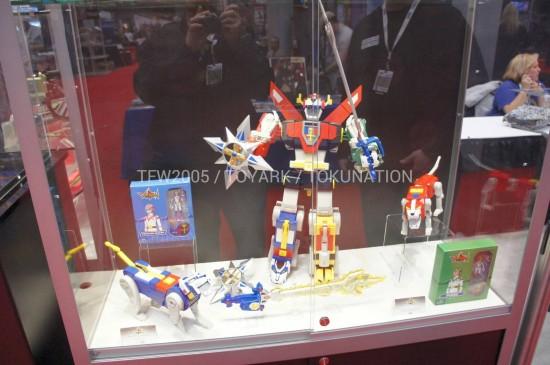 NYCC2012 Voltron Mattel