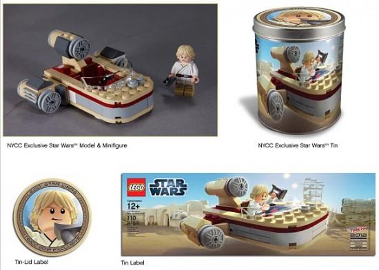 exclu lego star wars nycc
